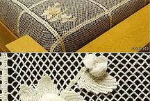 Bed cover crochet