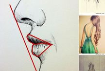 Realistic / How to draw realistic eyes, noses, hair, bodies and so on..