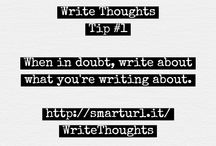 Write Thoughts / Daily writing tips from WriteThoughtsBooks.com