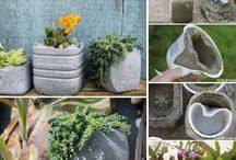 květníky beton
