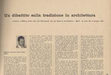 Franco Albini - Vecchia rassegna stampa