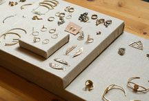 Clean and simple jewelry displays for shows / by Dixie Langley