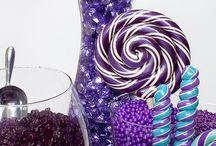 фиолетовый candy bar
