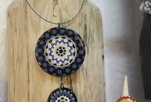 Collection Bohème / #bijoux #couleurs #bois #faitmain #createurs #artisanat #blandinevimon# handmade