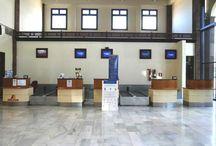 Aeropuerto de La Gomera / El aeropuerto de La Gomera, situado al sur de la isla en el término municipal de Alajeró, a 34 kilómetros de la capital (San Sebastián), es el más moderno del archipiélago canario. http://ow.ly/GwLjB