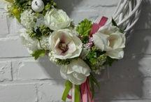 Sprzedany Wianek flower 150