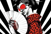 Shohei Otomo / Shohei Otomo is a modern day artist who draws with traditional Japanese influence combined with modern style.
