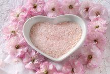 różowa sól