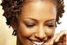 Short natural styles for black women