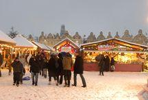 Les Hauts - de - France sous la neige / Arras, Dunkerque, Le Touquet-Paris-Plage, Métropole Européenne de Lille, Valenciennes Métropole, découvrez les en habit de Noël.