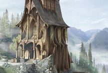 Fantasy Buildings / Fantasy Architecture in Concept Art and images.