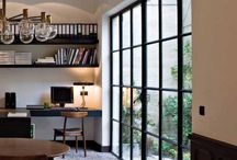 Interior Design: glass and steel