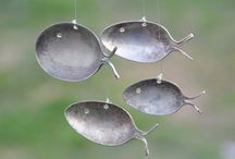 Spooning... / Silver spoon projects / by Brenda Kirtley