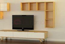 Arkitektur, interiør, eksteriør / Inspirasjon av møblering, farger og løsninger til hjemmet