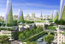 Города-будущего на биотехнологиях