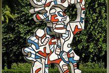 2e & 3e  Jean DUBUFFET (Art Brut ; Français) 1901-1985