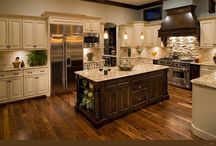 Kitchen Floors / by Janie Burnette, REALTOR® Real Estate Georgia, Cumming, Forsyth County rea estate agent
