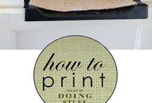 how to print on material