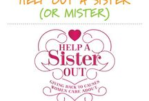 Help A Sister Out / Middle Sister Wines gives back to causes women care about all year long, and each May we dedicate the entire month to Help A Sister Out. We are proud to pledge a minimum of $10,000 annually.