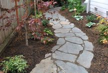 Flagstone Paths