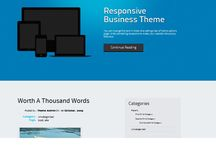 Website Themes From Wordpress / A small collection of new sample themes available from wordpress.