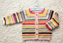 jämälankatakki / My lovely sister promised to knit a cardigan for my baby, so here's some color inspiration
