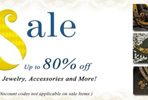SALE (upto 80% off)! / by Indianmyra