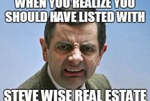 Steve Wise Real Estate Memes / I dare you to read this board without laughing!