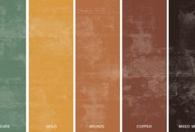 Inspiration & Color Palettes / Color Palettes and Theme Boards