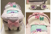 Diaper Bassinets by Diaper Diva Creations
