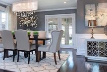 american country dining room