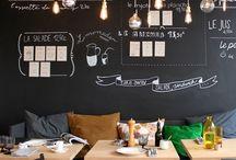 黒板 アイデア