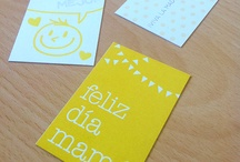 CRAFT tags · fonts · postcards