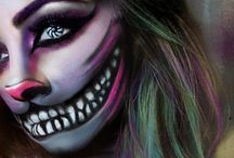 Cheshire Cat MakeUp and Costumes