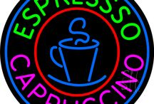 Cappuccino Neon Signs