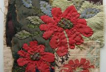 Textile Art -Flowers / by Deborah O'Hare