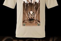 Ilustraciones basadas en StarWars / Diseños simpáticos para camisetas, posters, fundas para moviles y tablets, tazas, pegatinas, papeleria, etc.
