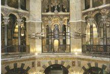 Karolingische kunst / Schilderkunst, architectuur