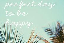 Quote / Voor net dat extra beetje Happiness op je dag!