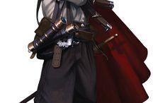 7th Sea Character Moodboard: Castillian priest/academian