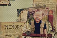 baby scrapbook pages for inspiration / by Leslie McGrath