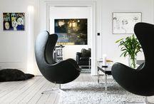 Nábytek v interiérech / interiéry s designovým nábytkem a doplňky z naší nabídky