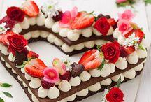 torta bellissima e veloce a cuore