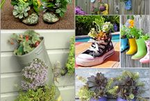 Lovely garden Container