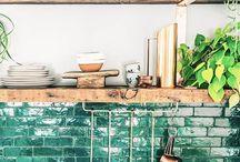 Keukenideen / Leuke ideeen voor onze nieuwe keuek