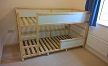 Kinderzimmer Bett ❤️❤️❤️