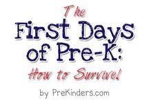 First days prek