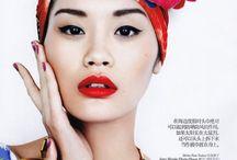 Asian mood / Asian fashion fusion