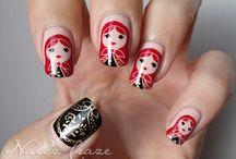 Nail Art / I love fancy-shmancy nails. / by Sara Fatyukhina
