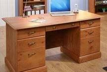 Luxury Executive Office Desk Wooden Study Workstation Large Businessman Computer